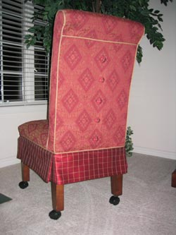 slipcovers - Jennifer's custom slipcover