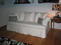 2 cushion couch slipcover